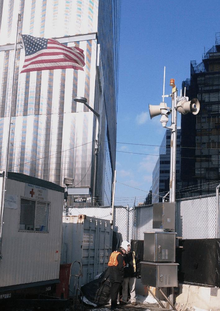 world trade center security siren