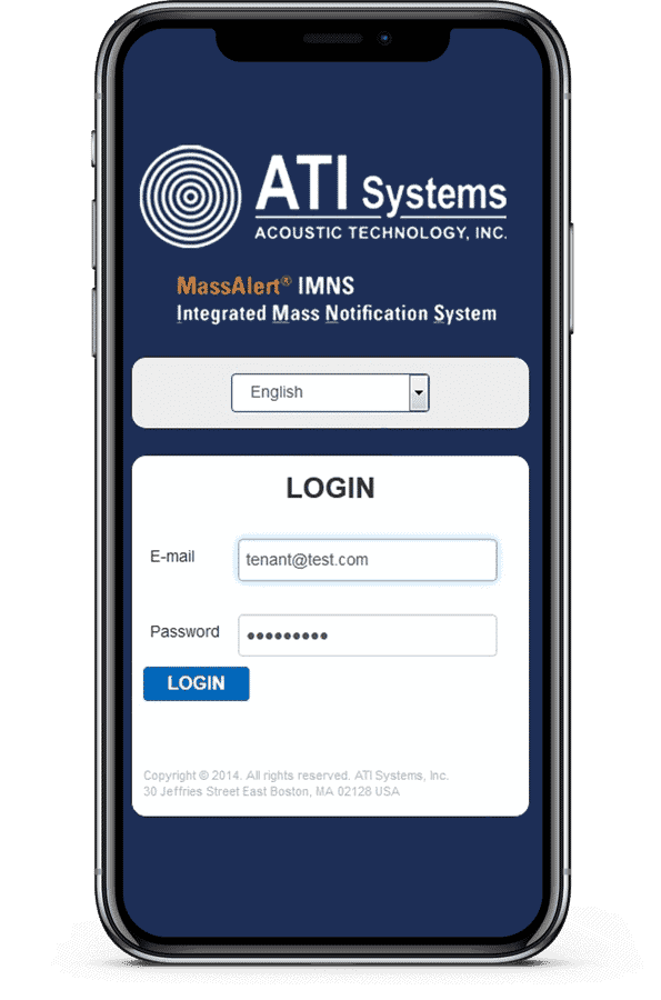 mass notification software alert system