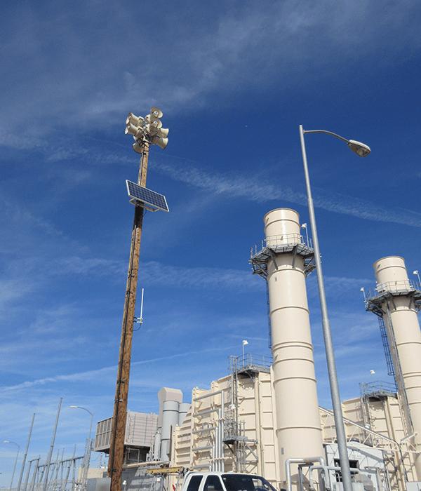 industrial alarm systems siren 3200 watt