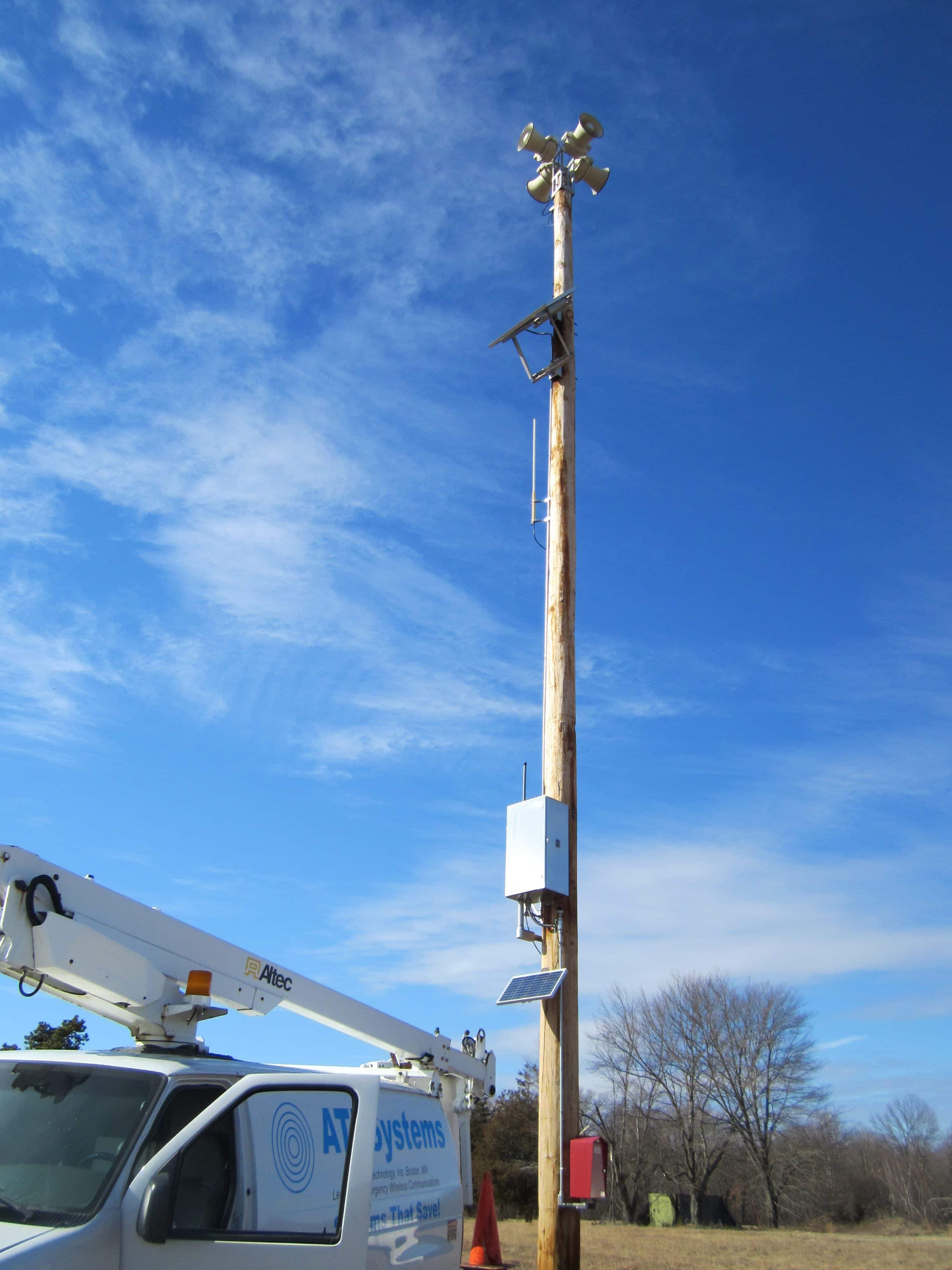 ATI siren install