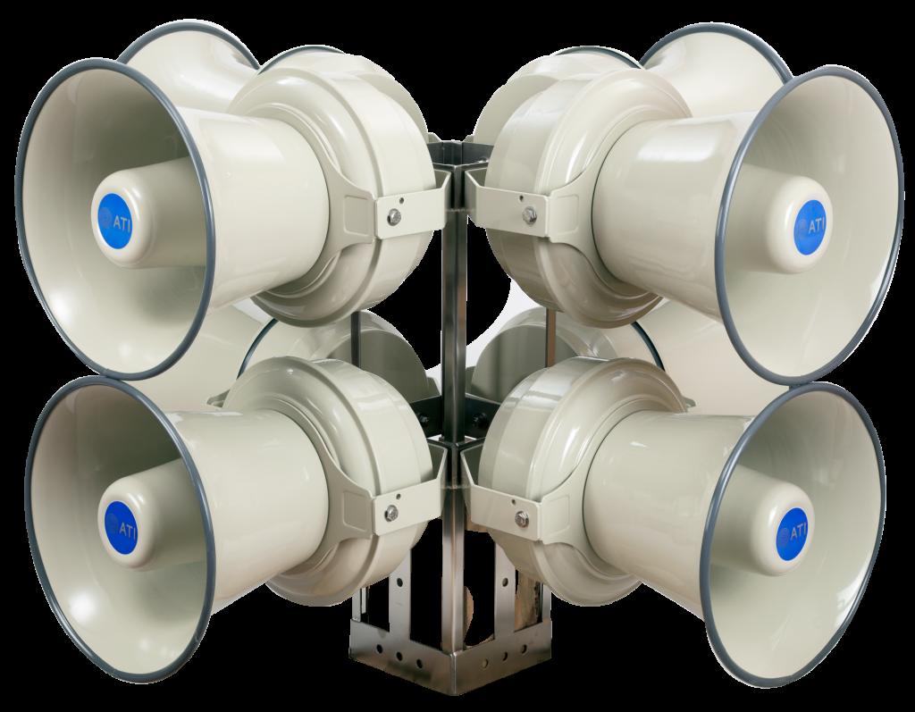 3200 WATT outdoor warning siren mass notification redesigned