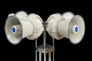 Outdoor warning siren Mass notification siren 1600 watt